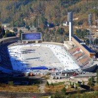 Высокогорный спортивный комплекс - «Медео». :: Anna Gornostayeva