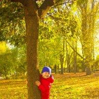 В осеннем парке :: Юлия Роденко