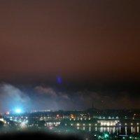 г.Ивангород и г.Нарва ночью :: Руслан 1111
