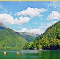 Горный пейзаж :: Лидия (naum.lidiya)