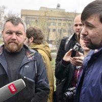 Андрей Пургин и Денис Пушилин :: Игорь Д