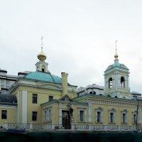 Церковь Спаса Преображения в Преображенском (строящаяся) :: Александр Качалин