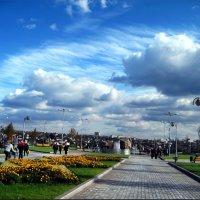 Парк у Донбасс- арены в Донецке :: Татьяна Пальчикова