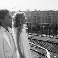 ангелы на крыше :: Екатерина Копейкина