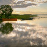 Зеркальный закат. :: Алёна Райн