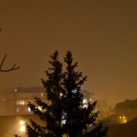 ночной туман :: Елена Нор