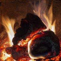 Догорают дрова :: Aнна Зарубина