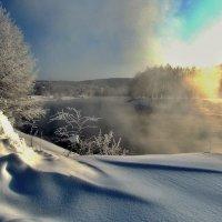 зима.утро.солнце.туман. :: юрий иванов