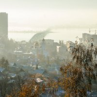 САРАТОВ_морозное утро :: Андрей ЕВСЕЕВ