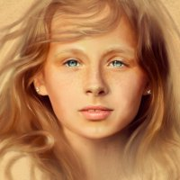 девочка из Лета :: Анастасия Аникеева