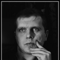 Первая проба автопортрета :: Максим Сорокин