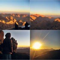 ...долгожданный рассвет ...гора Синай(Моисея) :: Елена Михайловна