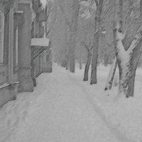 На старой улице :: Григорий Кучушев