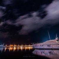 ночной порт. г.Пафос.Кипр 2014 :: Евгений Кот