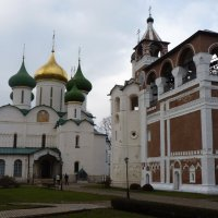 Спасо-Преображенский собор и  Монастырская звонница :: Galina Leskova