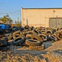 Потёртая обувка или грузовики на привале :: Ser Gun ...