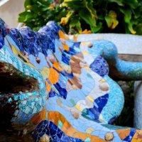 Знаменитая ящерица Барселоны :: Таня Фиалка
