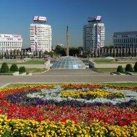 Площадь Республики в Алматы. :: Anna Gornostayeva