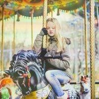 Childhood in the world of horses :: Анна Степанова