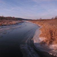 река замерзает :: Николай Черонов
