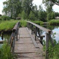 Там, где мостик над тихой речушкой :: Татьяна Ломтева