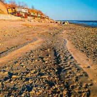 Ноябрь. Вечер на пляже. :: Константин Бобинский