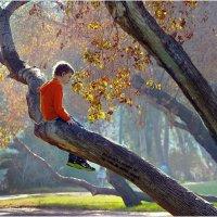Осень в парке! :: Борис Херсонский