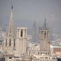 Крыши Барселона :: vasya-starik Старик