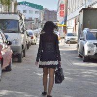 Она прошла как каравелла... :: Валерий Кабаков
