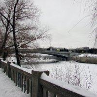 Мост через реку Омь :: раиса Орловская