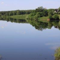 Как зеркало, вода реки.... :: Маргарита ( Марта ) Дрожжина