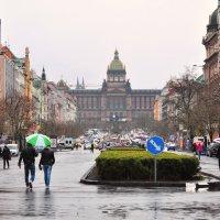 Вацлавская площадь, Прага :: Алеся Пушнякова