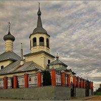 Церковь Николая Чудотворца на Подозерье, 1745 :: Дмитрий Анцыферов