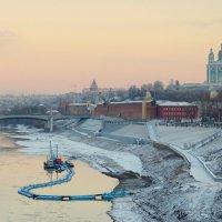 Зимний вечер в Смоленске. :: Игорь