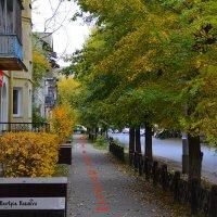 Осенняя улица :: Валерий Кабаков