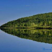 Самая зеркальная река!  р.Кава. Колыма 18 :: Виталий Половинко