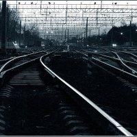 Железнодорожный пейзаж 1 :: Александр Хахалкин