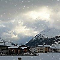 домики в Альпах :: Natalia Kalyva