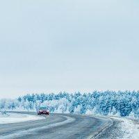 Зимнее шоссе :: Дмитрий Тарарин