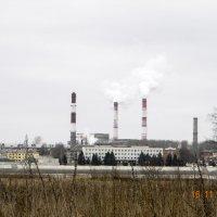 Индустриальный пейзаж :: Алексей Денисов
