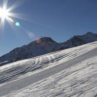 Солнце горы снег :: Михаил Фирсов