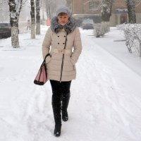 По снежку :: Владимир Болдырев