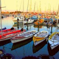 Лодки в Акко :: Юрий Эпштейн