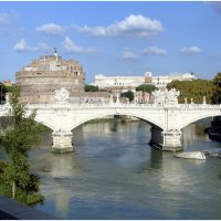 Рим, мост Виттороио Эммануэле :: Lüdmila Bosova (infra-sound)