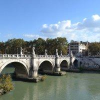 Рим, мост Святого Ангела :: Lüdmila Bosova