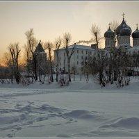зимний вечер в Измайлово :: Дмитрий Анцыферов