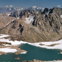 Горное озеро :: Александр Грищенко