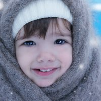 Зимняя улыбка :: Андрей Черкашин