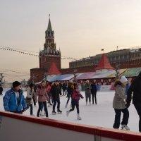 Каток на Красной площади :: Владимир Болдырев