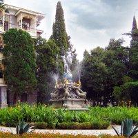 фонтан НОЧЬ :: Ольга Рывина